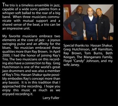 Larry Fuller-Inside Cover